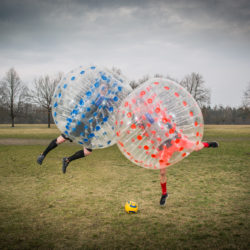 Outdoor Bubble Soccer Nürnberg